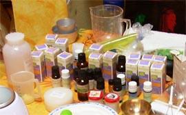 Corsi di massaggio ayurvedico e oli ayurvedici