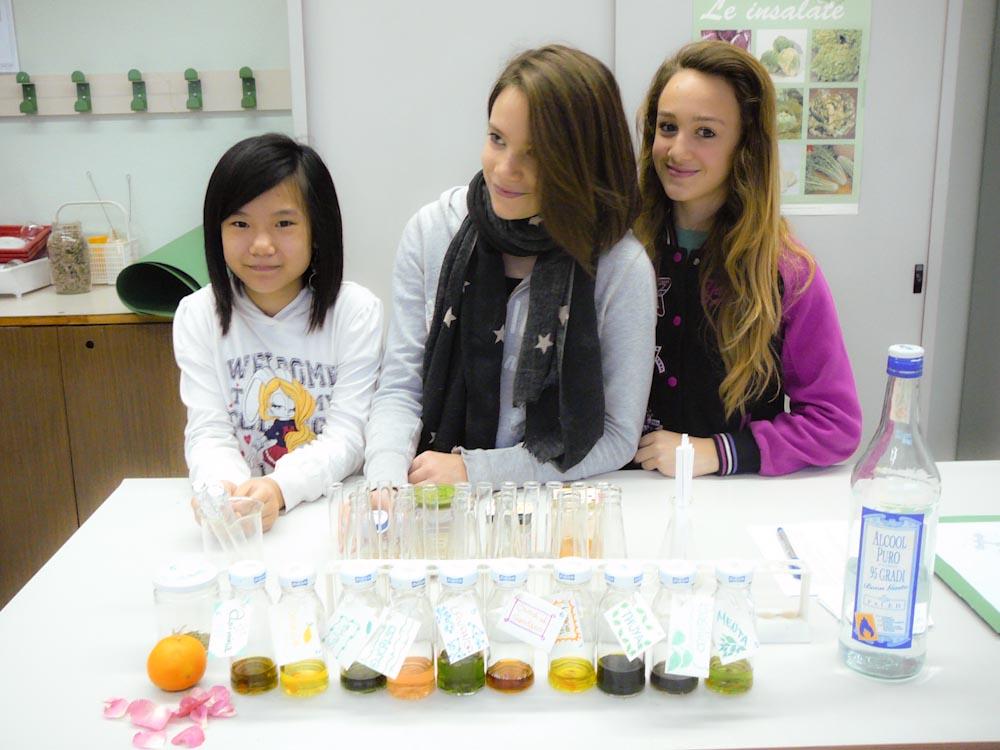 Laboratorio sulla Profumeria naturale