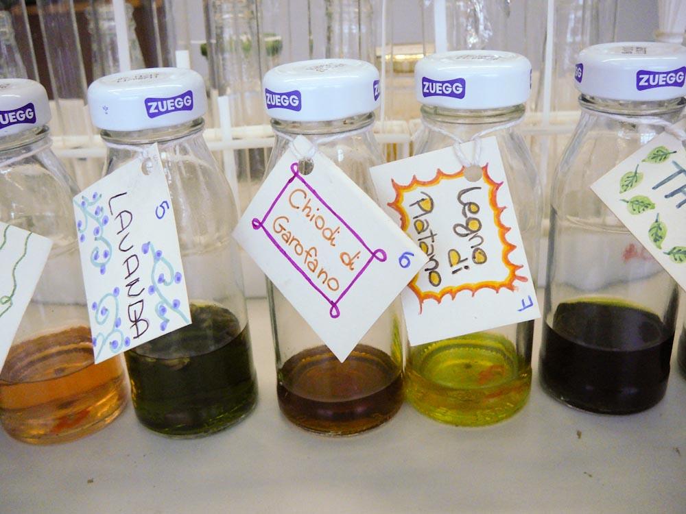 Esperimenti di Aromaterapia e Profumeria naturale