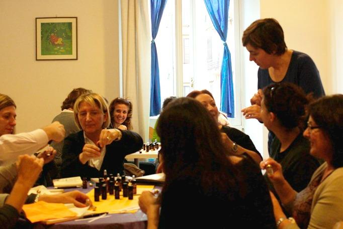 Corso di Profumeria botanica e Aromaterapia a Roma