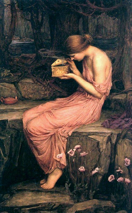 il mito di psiche e i profumi e aromi