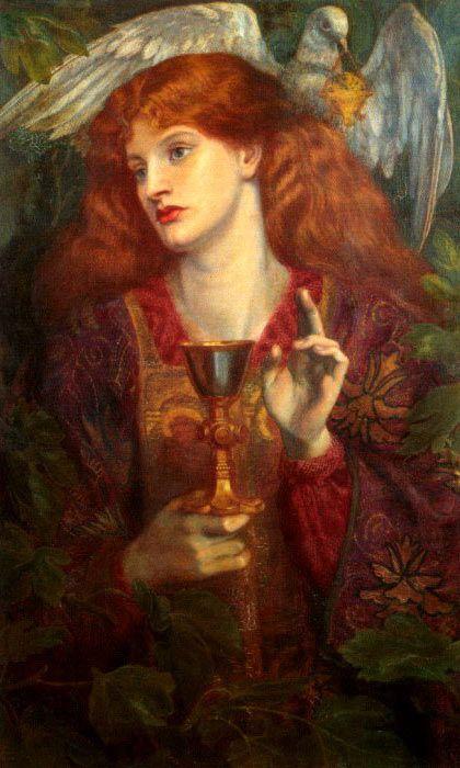 Graal Dante Gabriele Rossetti