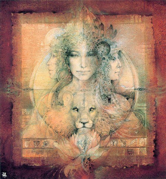Triple Goddess Susan Seddon Boulet