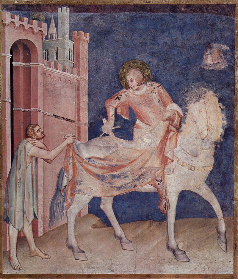 San Martino e la spada