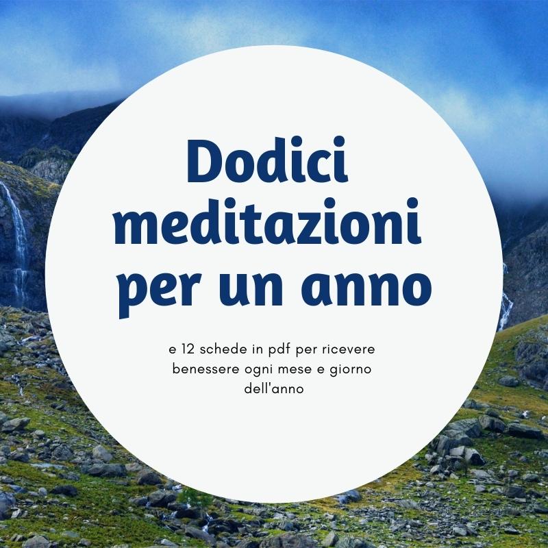 dodici meditazioni per un anno corso online