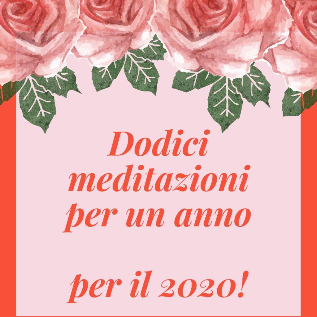 meditazioni per il 2020