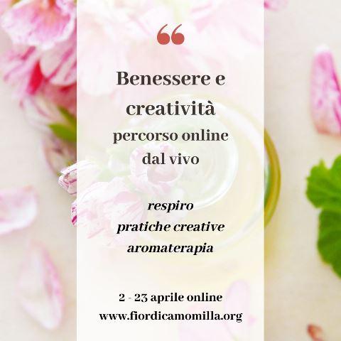 benessere respiro creativita aromaterapia workshop online